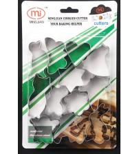 12 CC Формы для выпечки печенья Нерж.сталь