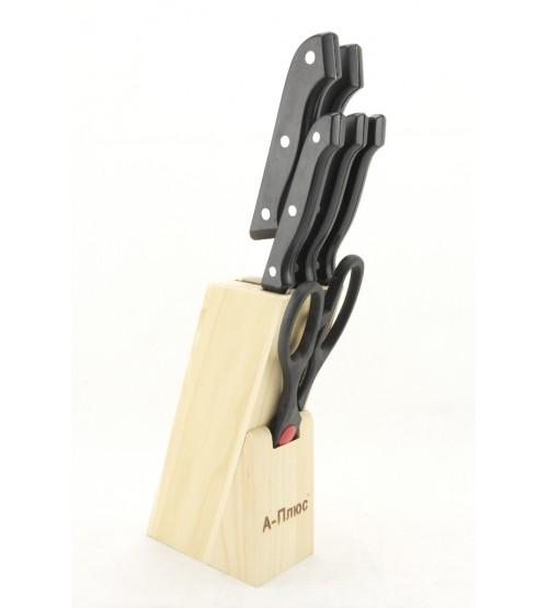 1005 Набор ножей (7 предметов) Черный