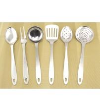 0229 Кухонный набор 7 предметов из нерж.стали