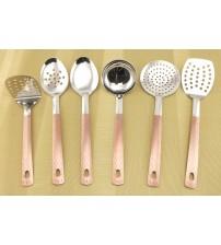 0230 Кухонный набор 7 предметов из нерж.стали