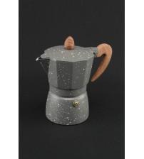 2084 Кофеварка  Алюминий 3 чашки
