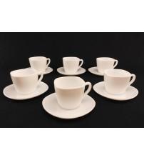 1874 Набор чайный 220 мл квадрат (12 предметов)
