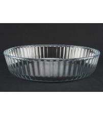 4004 Противень,круглый стекло