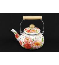 0969 Чайник эмалированный 2,5 л