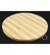 6005-7 Доска бамбук разделочная 28*28 NEW