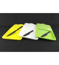 9094 Доска пластиковая + нож