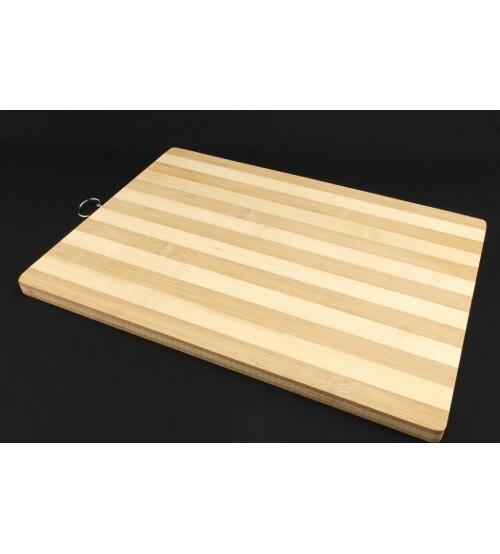 6005-12 Доска бамбук разделочная 38*28
