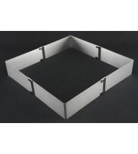 1528LC Форма складная квадрат Нерж.сталь NEW