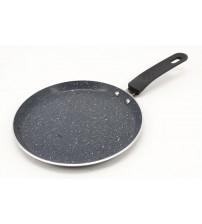 3002 Сковорода блинная 20 см  мраморное покрытие/индукционная