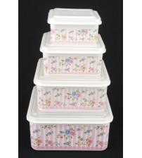 236 PF Пластиковый контейнер 4 шт