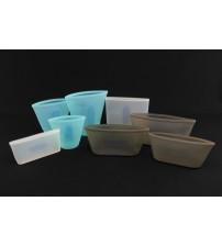 08 SSB Универсальный силиконовый многоразовый контейнер для хранения еды