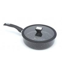 Сковорода 24 см с гранитным покрытием глубокая 1506