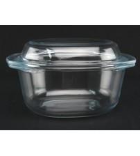 4008 Овальная кастрюля 1 л стекло NEW