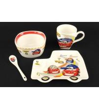 402 CS Детский набор посуды из керамики 4 шт