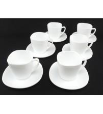 1879 Набор чайный 220 мл квадрат (12 предметов)