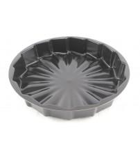 1136 Форма для выпекания (пирог) 30х5,5см с диамантовым покрытием круг.